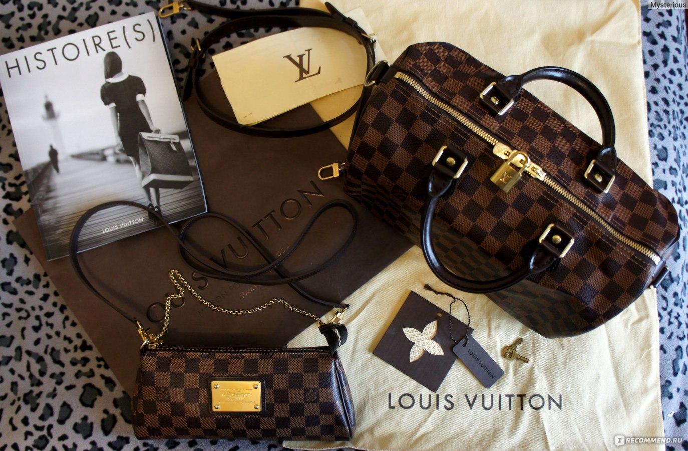 54ff29811df6 Сумка Louis Vuitton Speedy - «Сумка LOUIS VUITTON Speedy Bandouliere ...