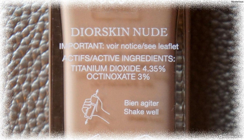 Diorskin nudeskin Nude Photos