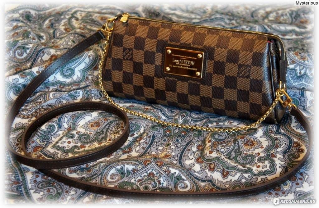 0246dda61ae1 Клатч Louis Vuitton Eva - «Сумочка-Клатч LOUIS VUITTON EVA Damier ...