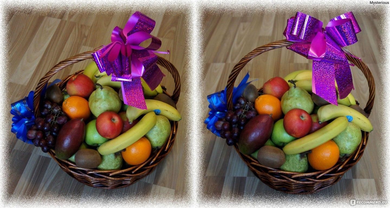 Корзины с фруктами в подарок 29