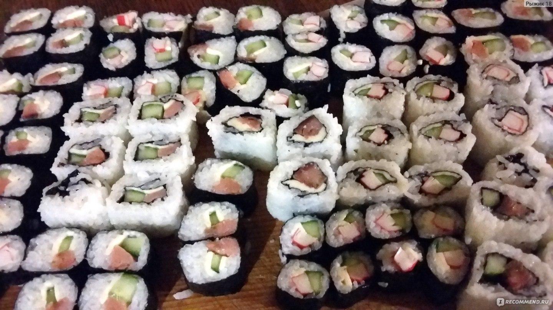 Суши рецепт приготовления пошаговый и фото
