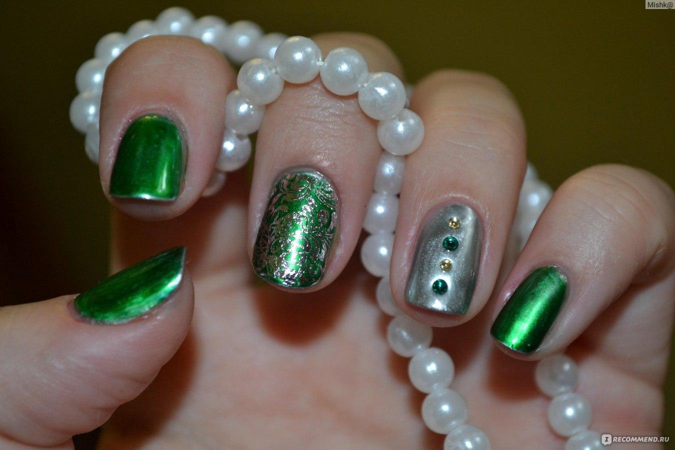 Украшение стразами ногтей гель лака фото