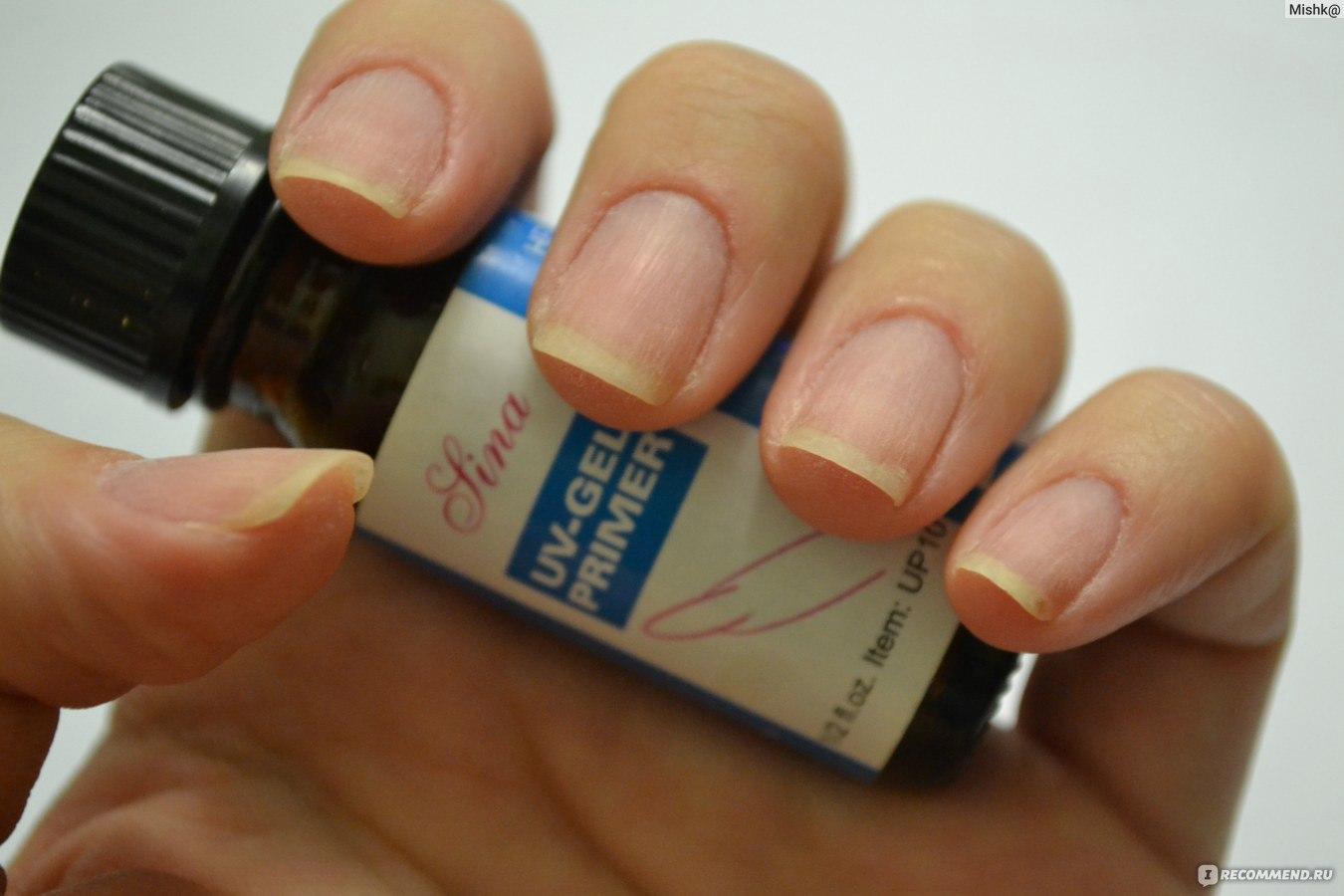 Как нанести праймер блюскай на ногти