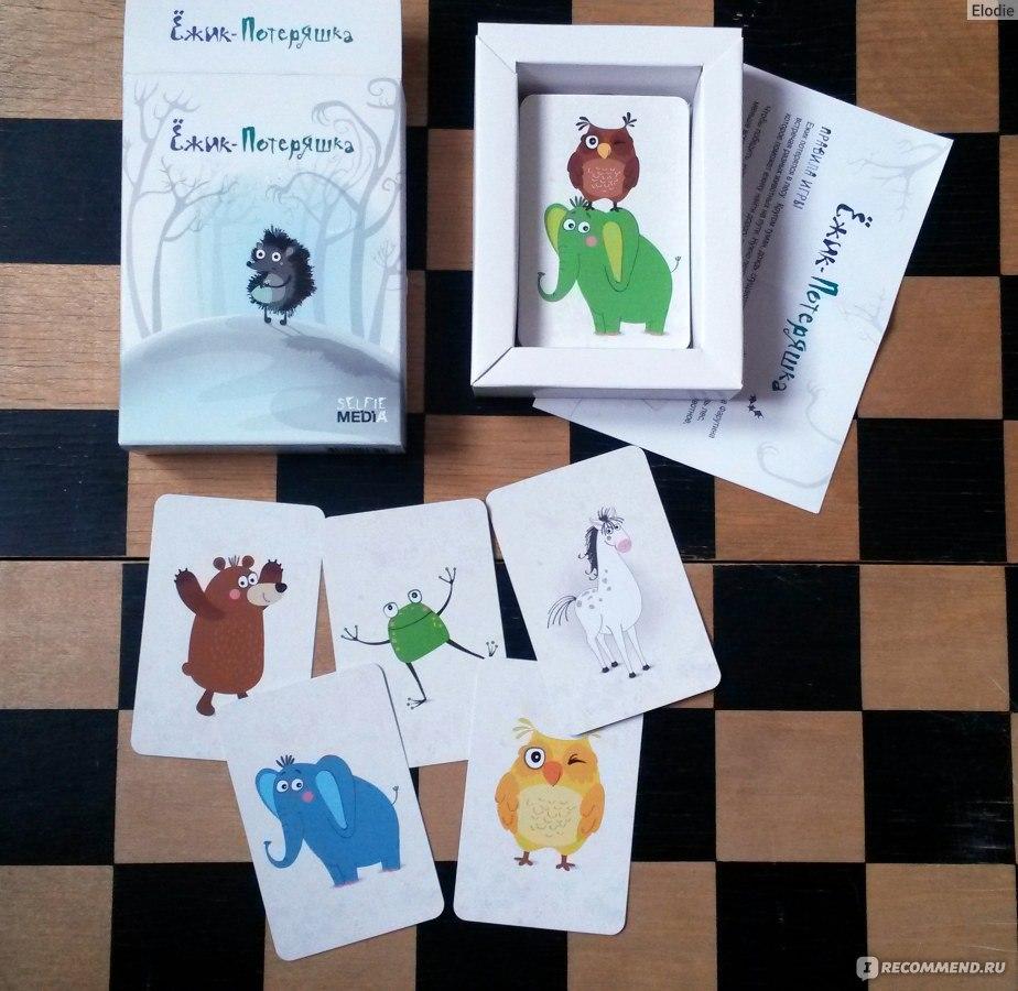 медведь играть карты
