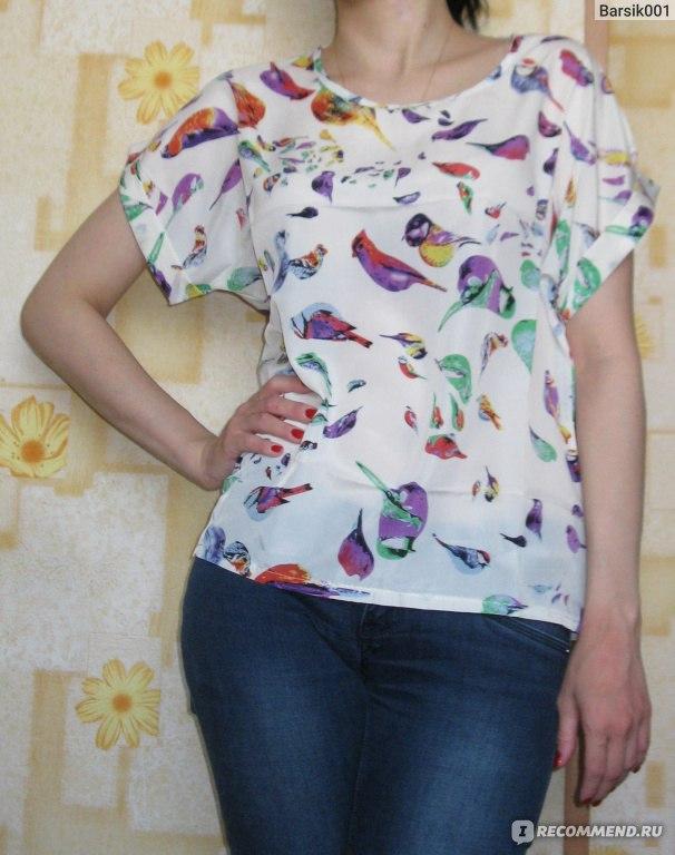 Блузка С Птичками Доставка