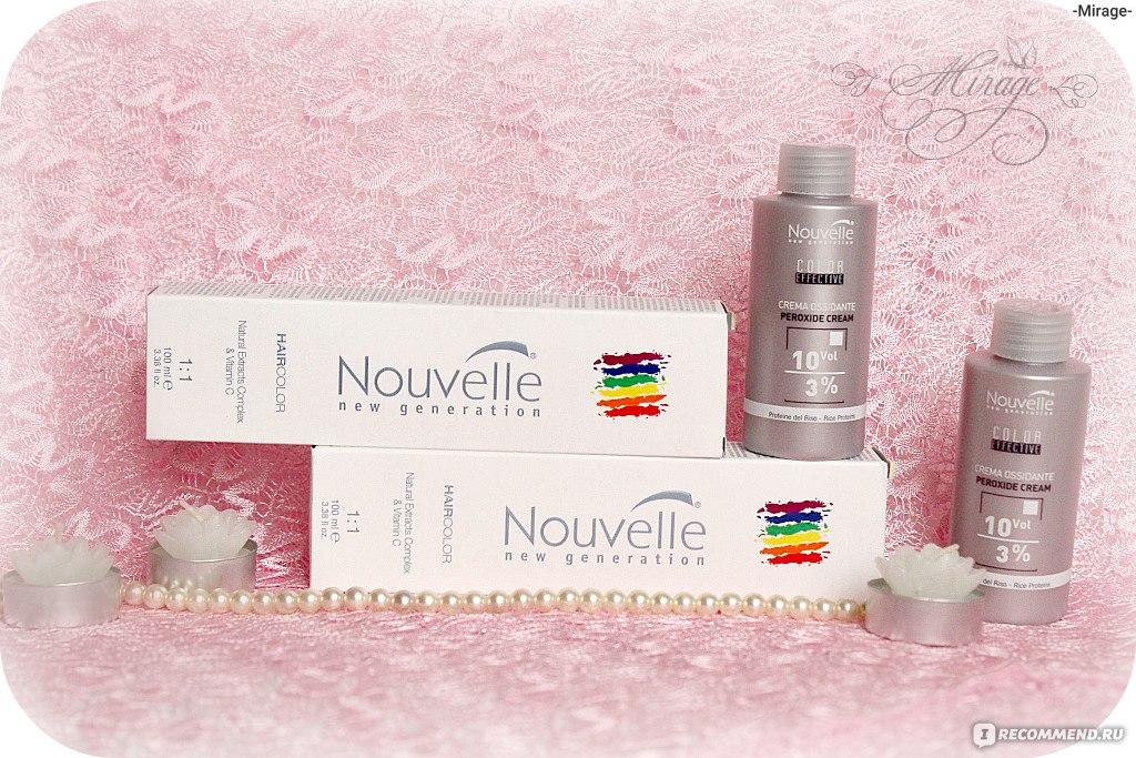 Отличие профессиональных красок для волос Новель