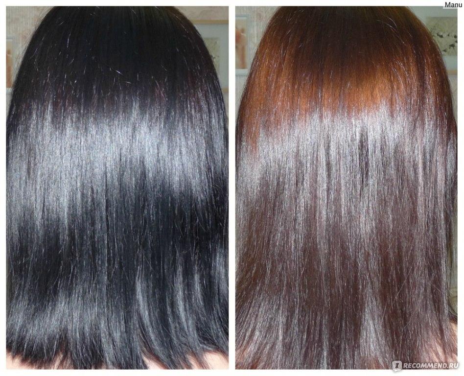 Смывка для черных волос в домашних условиях видео