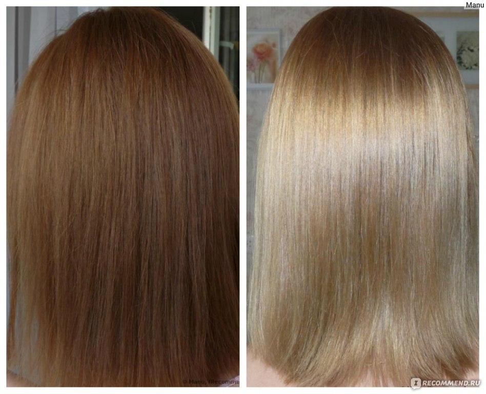 Смывка волос эстель фото до и после