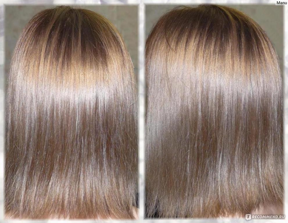 Затонировать волосы estel
