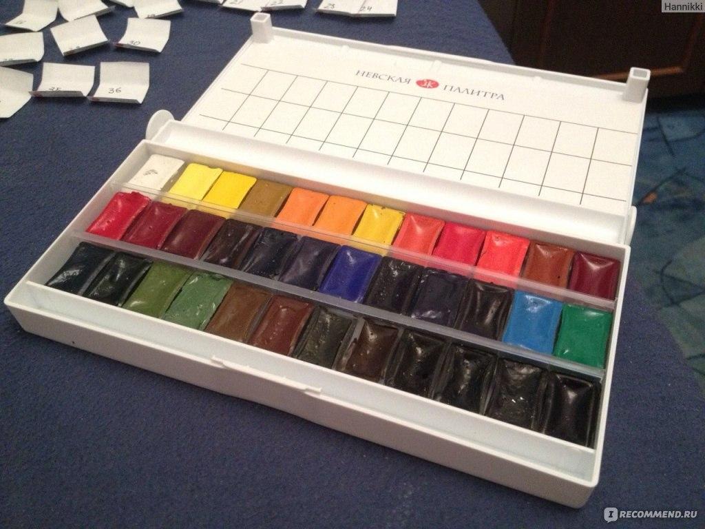 Как сделать из акварельных красок 310