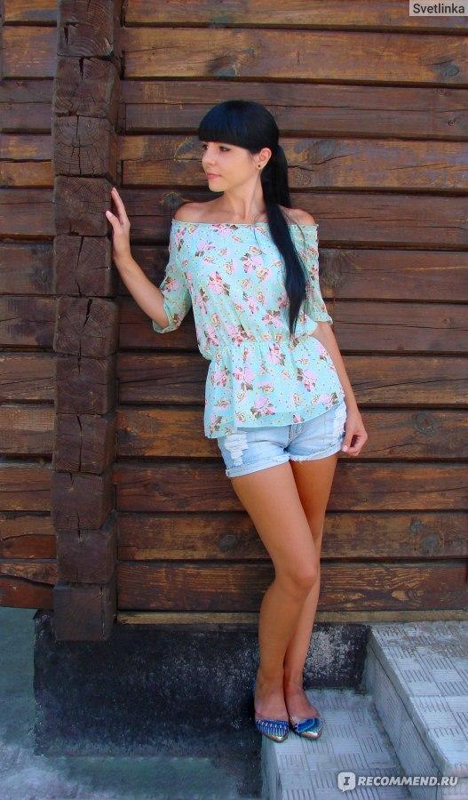 Блузка алиэкспресс