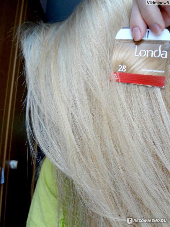 Как желтый волос сделать пепельным