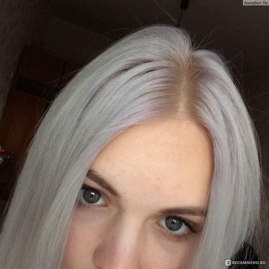Полярный цвет волос