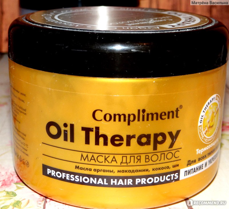 Oil therapy compliment маска для волос