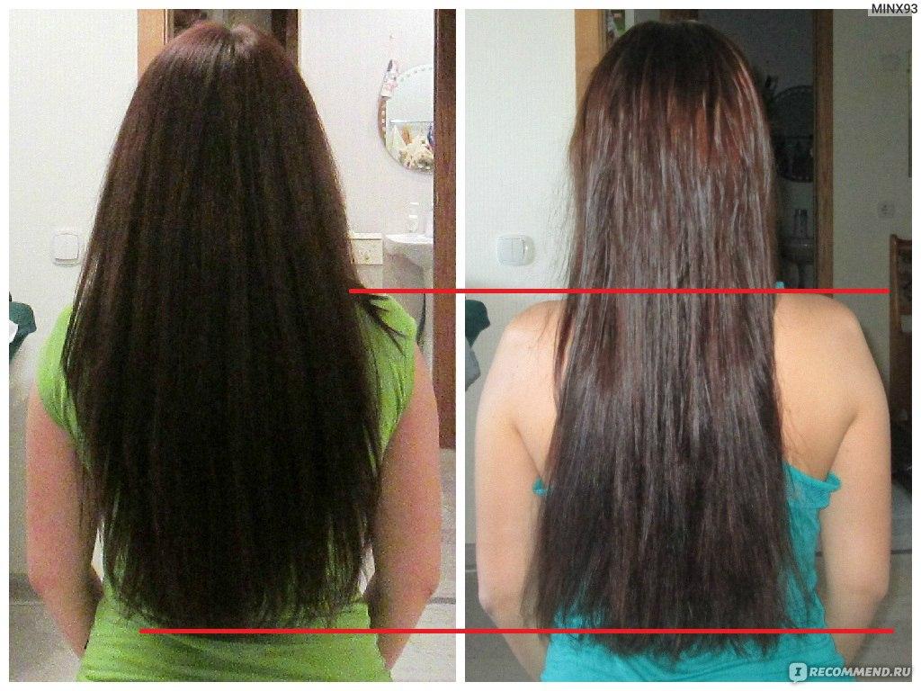 Репейное масло для волос эффект