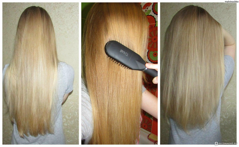 С эффектом ламинированных волос в домашних условиях