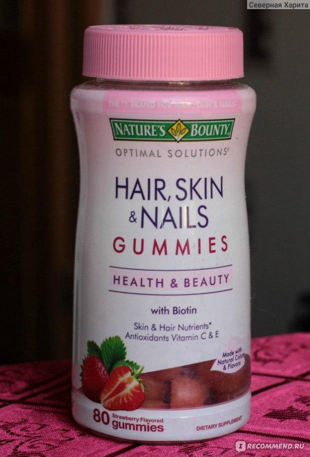 Витамины для волос iherb
