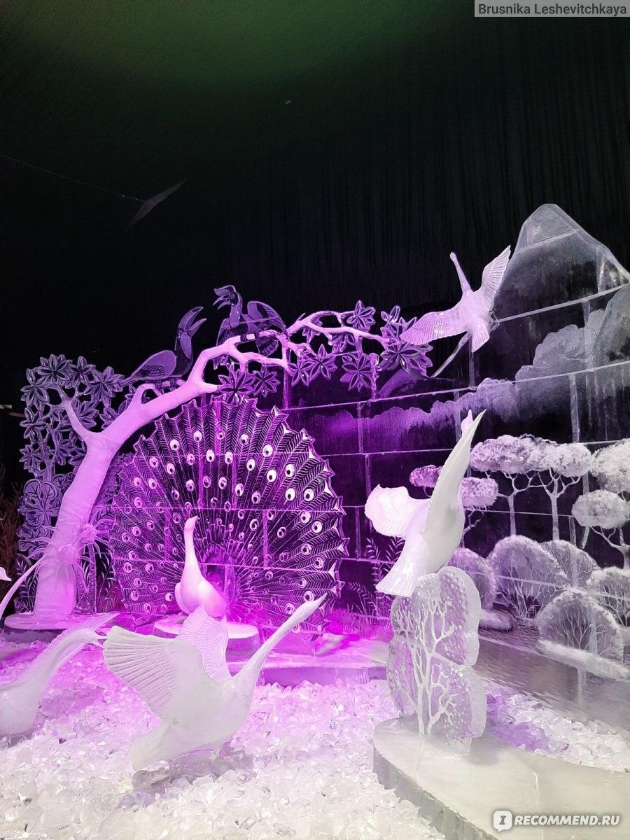 фото ледяных фигур в комсомольске на амуре цифровые