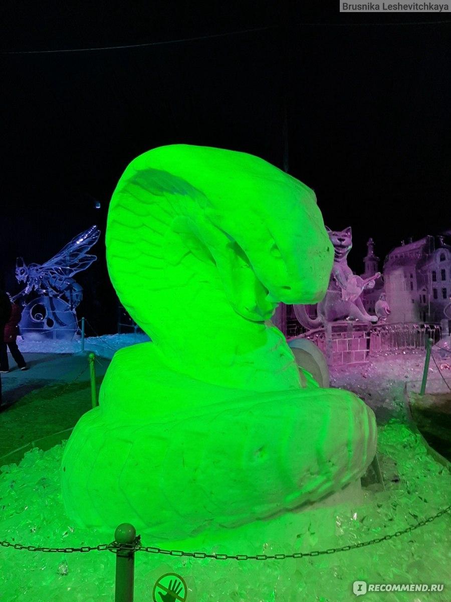 фото ледяных фигур в комсомольске на амуре класса люкс