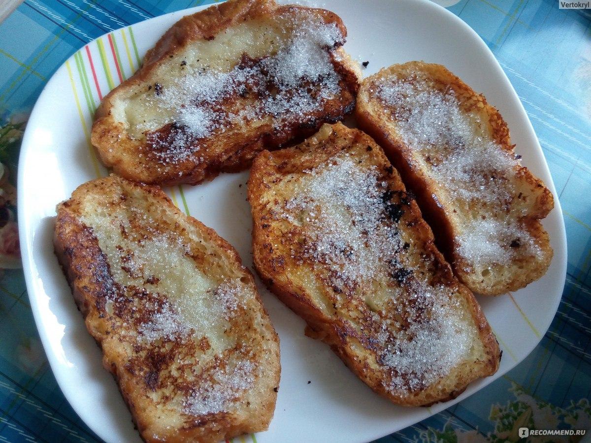 жареный в масле хлеб