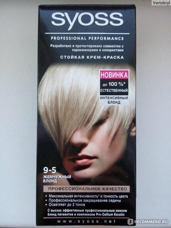 Syoss краска для волос инструкция по применению - фото 11