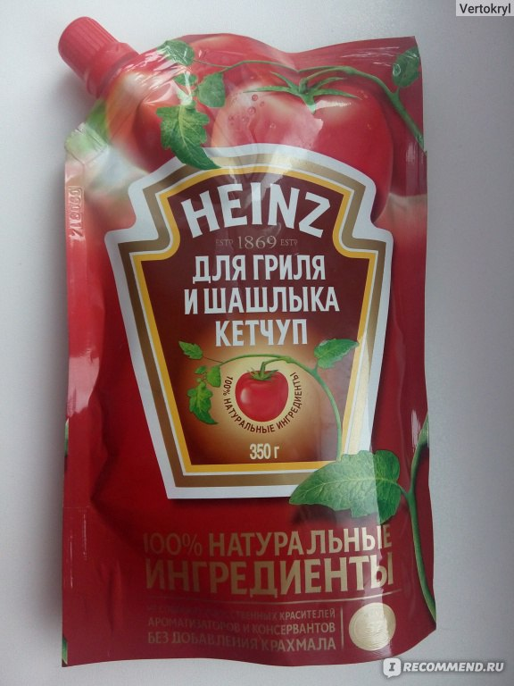 Как сделать кетчуп хайнц в домашних условиях 941