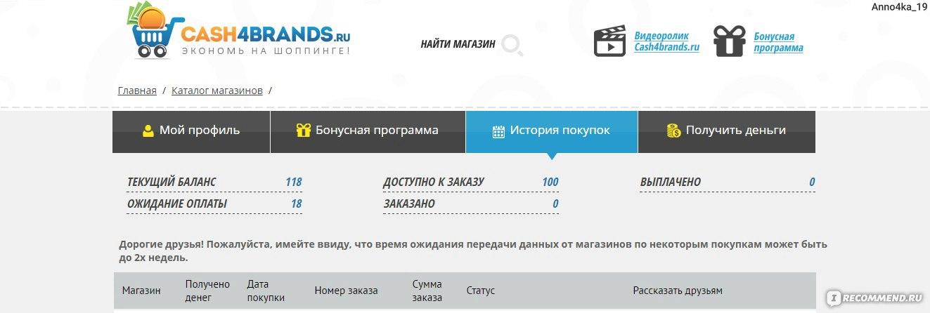 Кэшбэк cash4brands.ru - «Вам нравится интернет-шоппинг  Хотите ... 0b14fa0b851