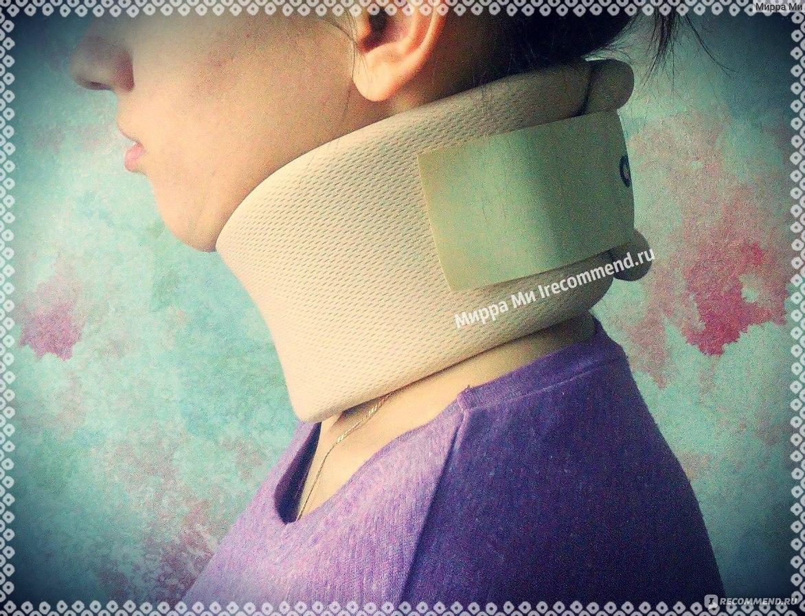 детский ортопедический воротничок инструкция