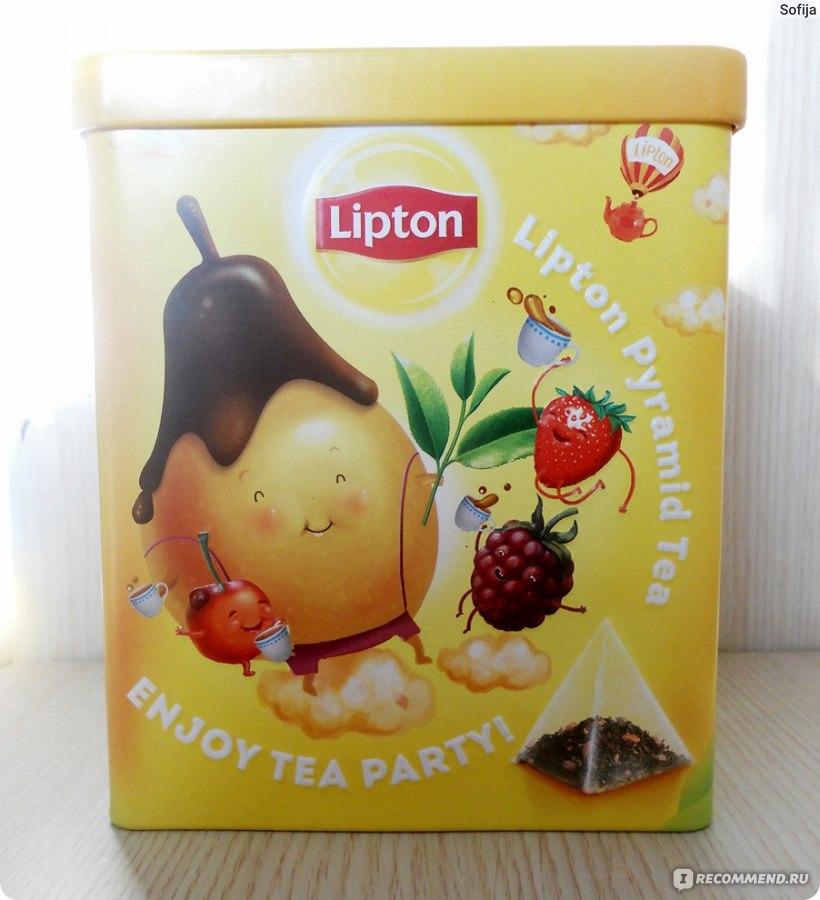 Фруктовый чай в пирамидках