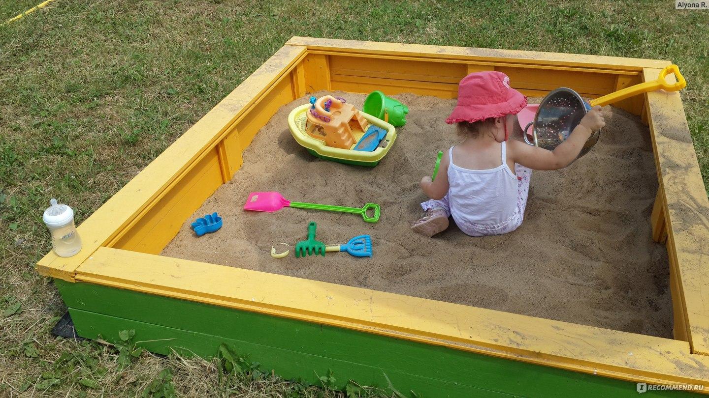 Переносная песочница своими руками 23