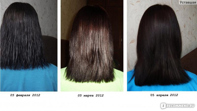 Интенсивное восстановление волос косметика