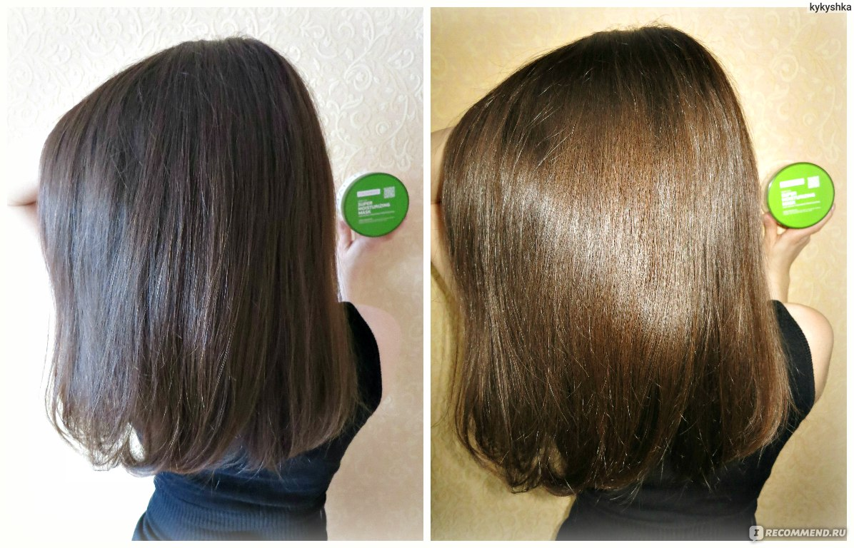 Как сделать волосы увлажнен