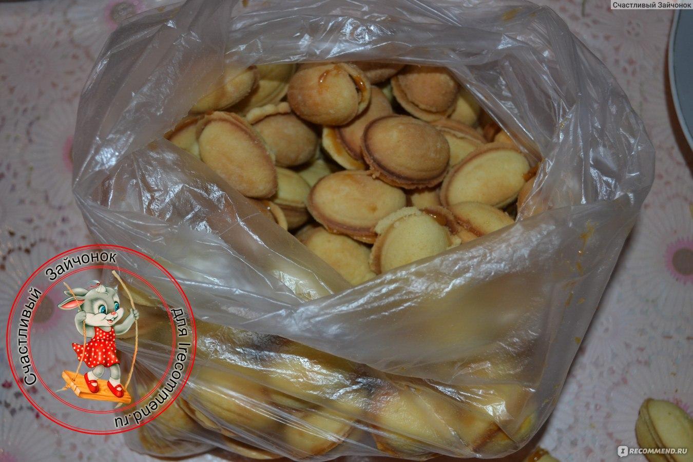 Орешки со сгущенкой в духовке рецепт пошаговый