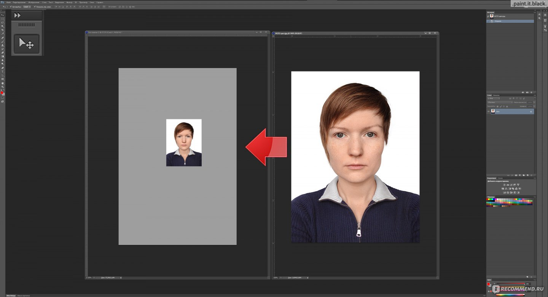 Как сделать фотку худее в фотошопе