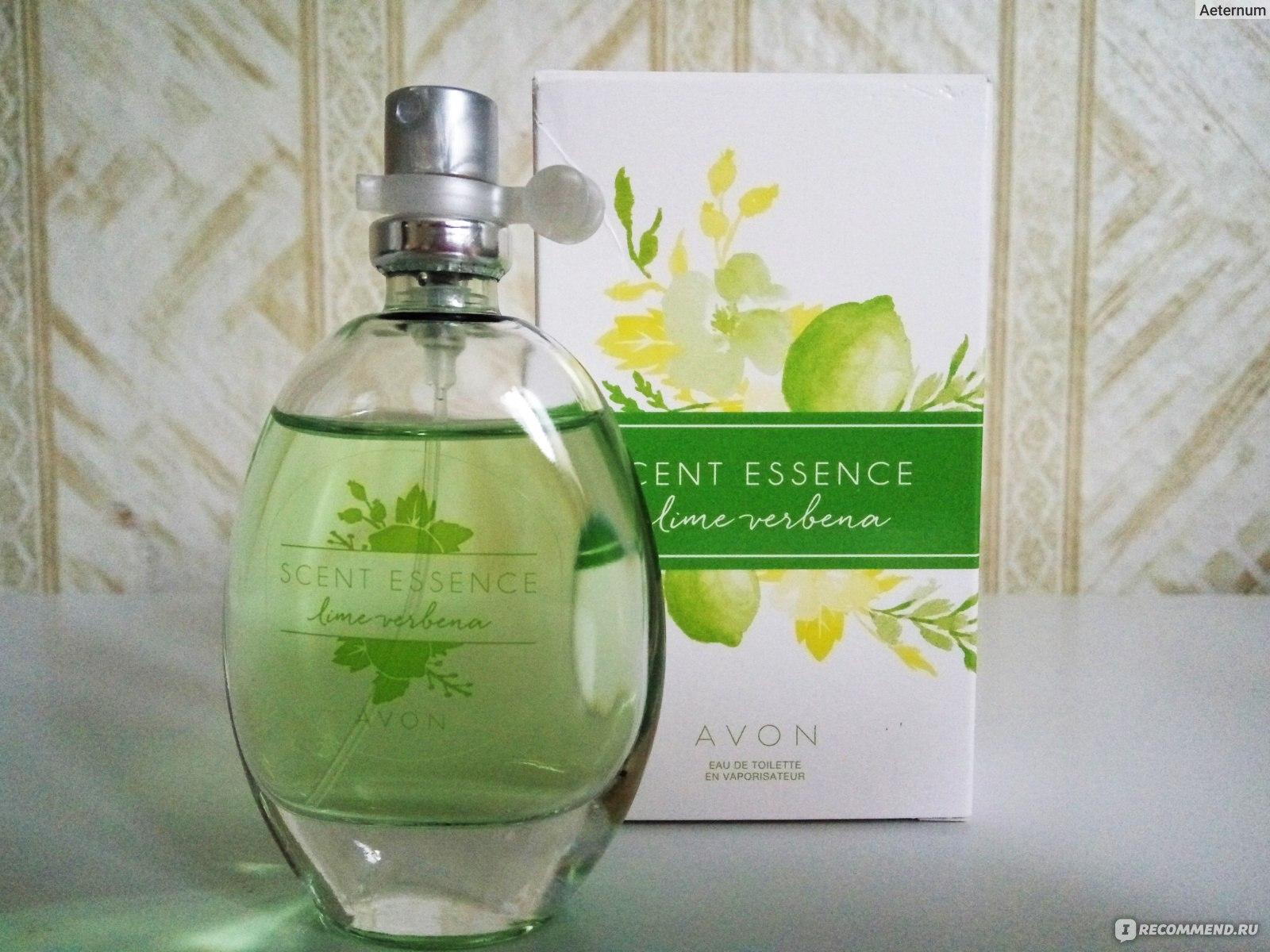 Ogromny Avon Scent Essence Lime Verbena - «Достойный вариант фруктово EW84