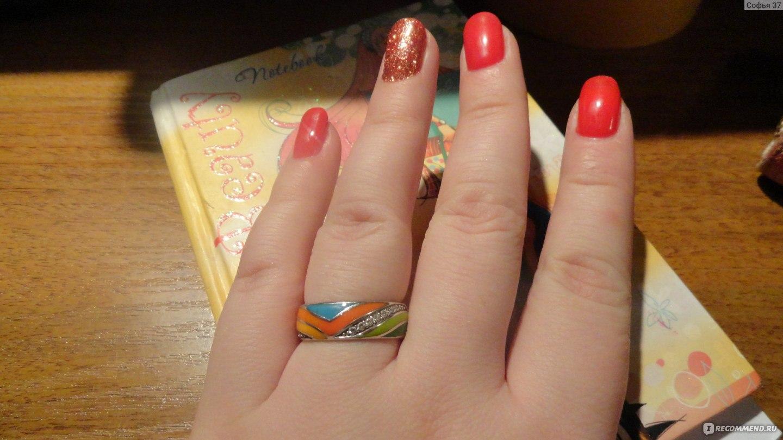 санлайт кольца с эмалью