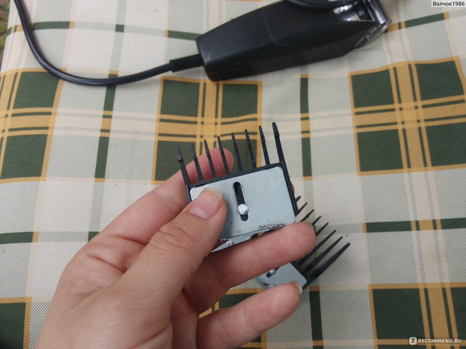 Греется машинка для стрижки волос остер