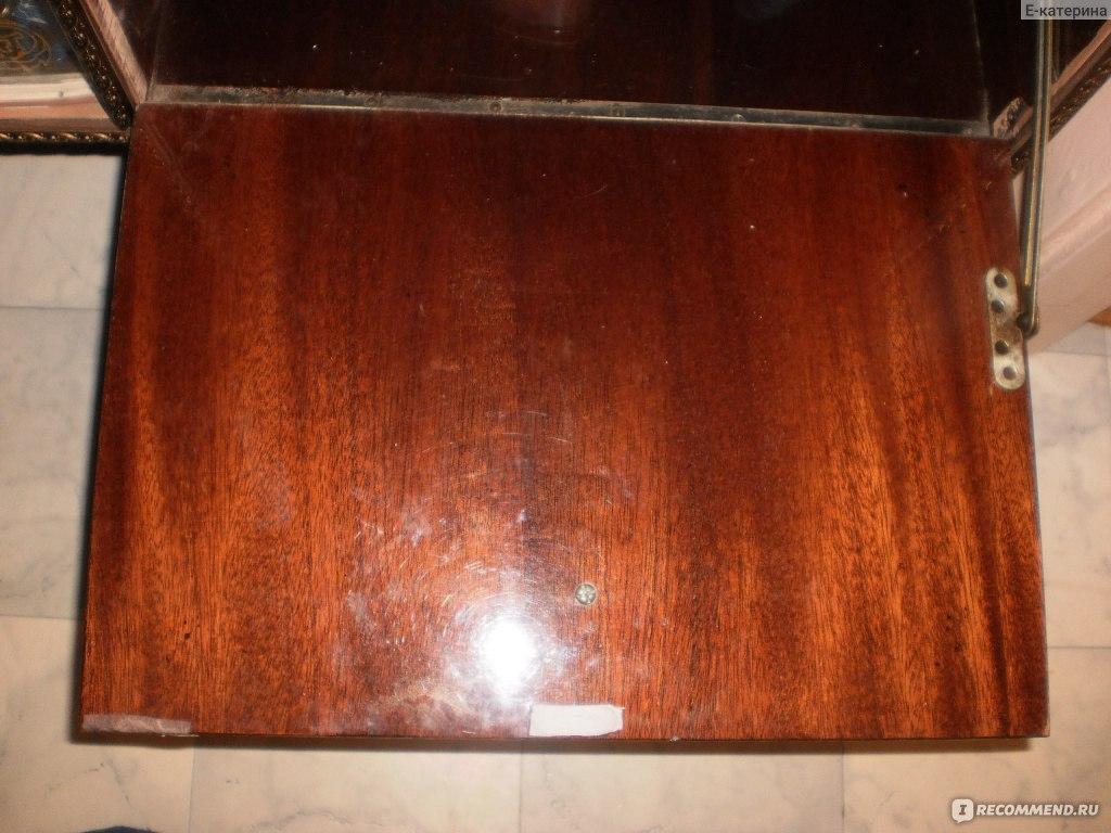 Перекрасить лакированную мебель своими руками 1