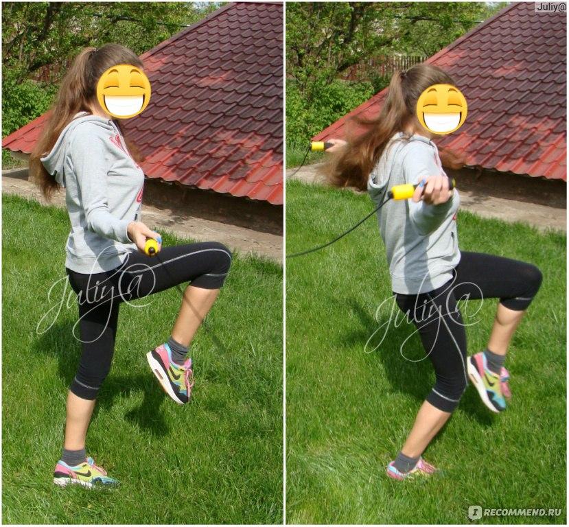 Скакалка для похудения отзывы до и после фото