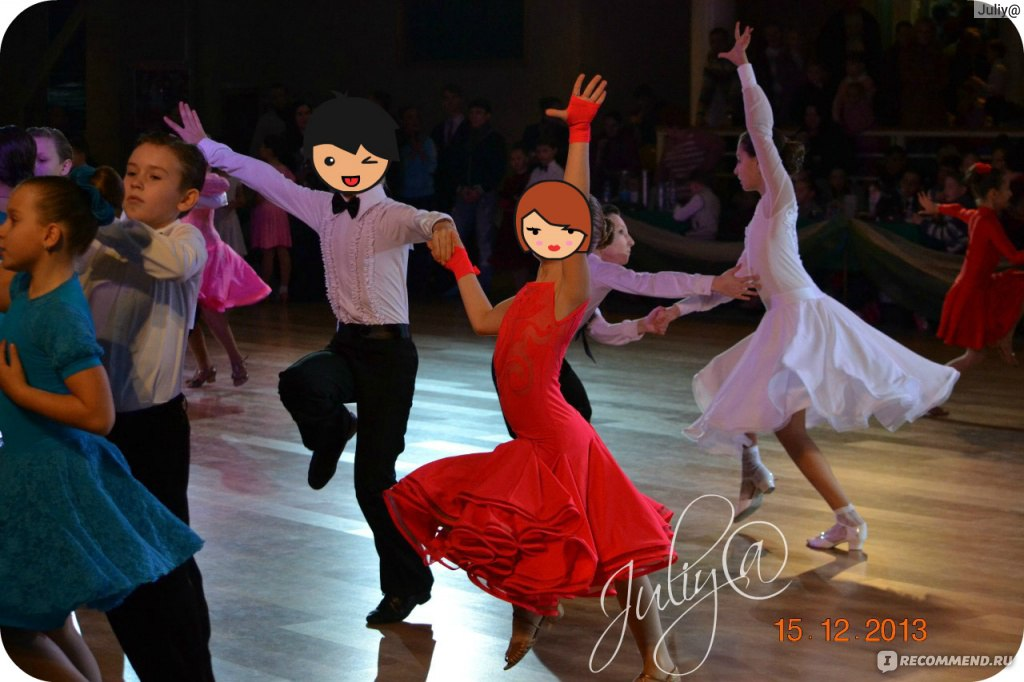 В чем ходят на танцы