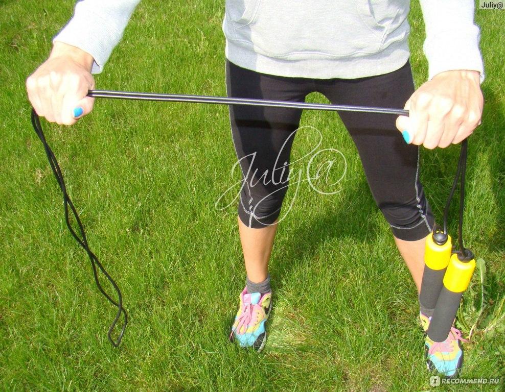 Прыжки на скакалке для похудения ног