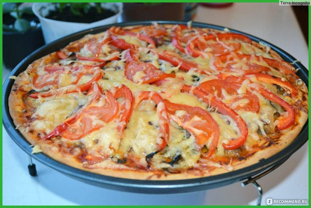 Пицца рецепты в домашних условиях на сухих дрожжах