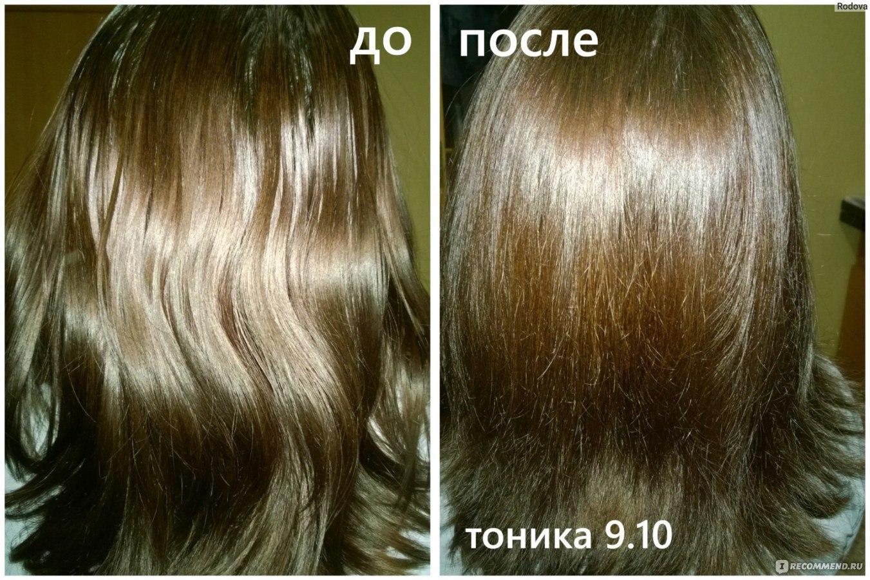 Какой краской убрать рыжину с русых волос