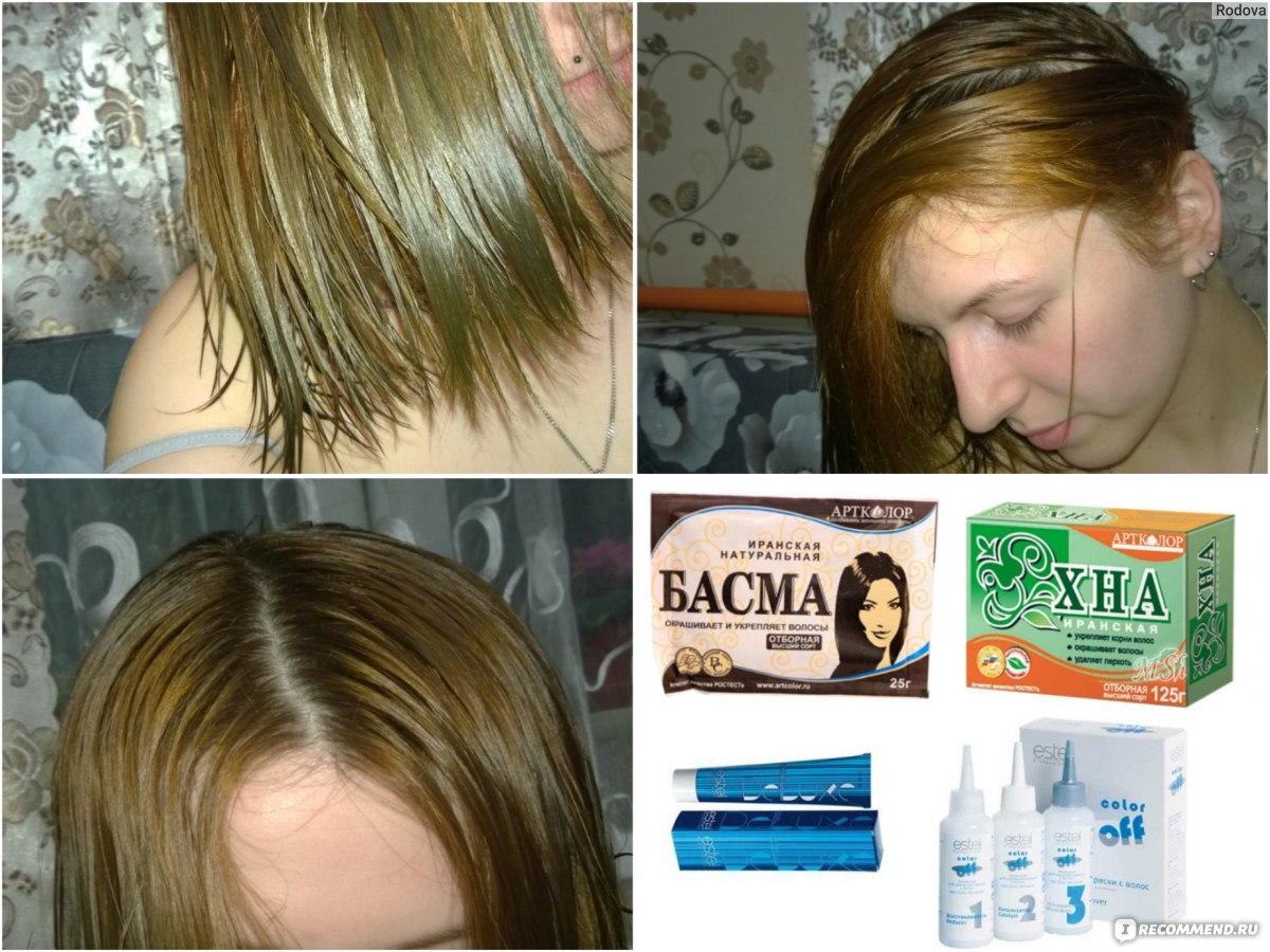 Как смыть краску с волос в домашних условиях Краски 21