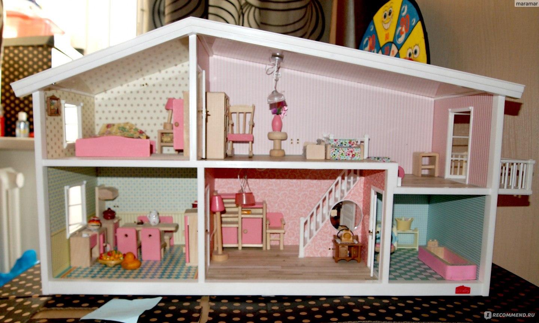 Кукольный домик - какой купить или как сделать своими руками? | 863x1440