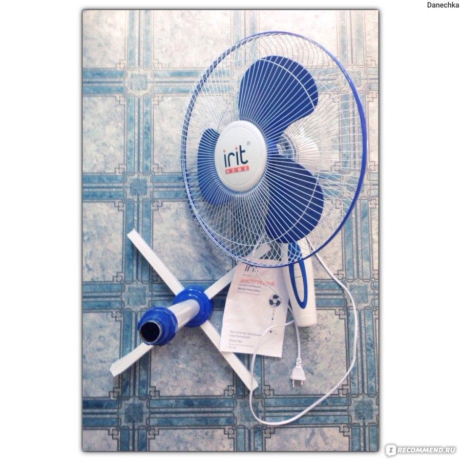 вентилятор напольный Irit Irv-002 инструкция - фото 4