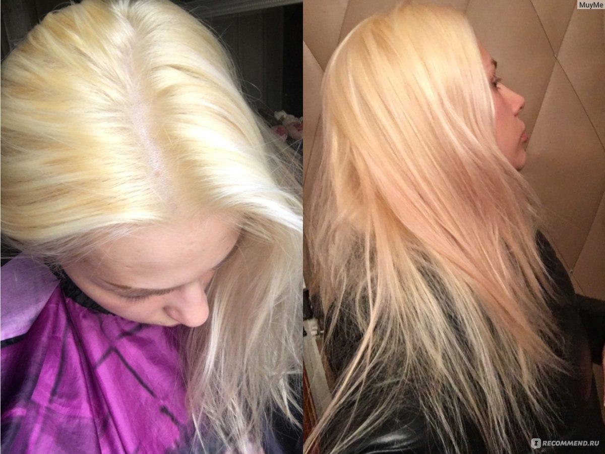 Отзывы убрать желтизну с волос
