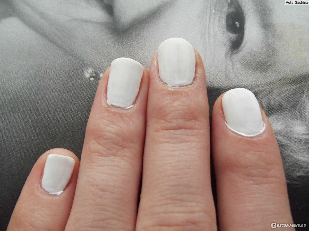 Дизайн ногтей матовые белые
