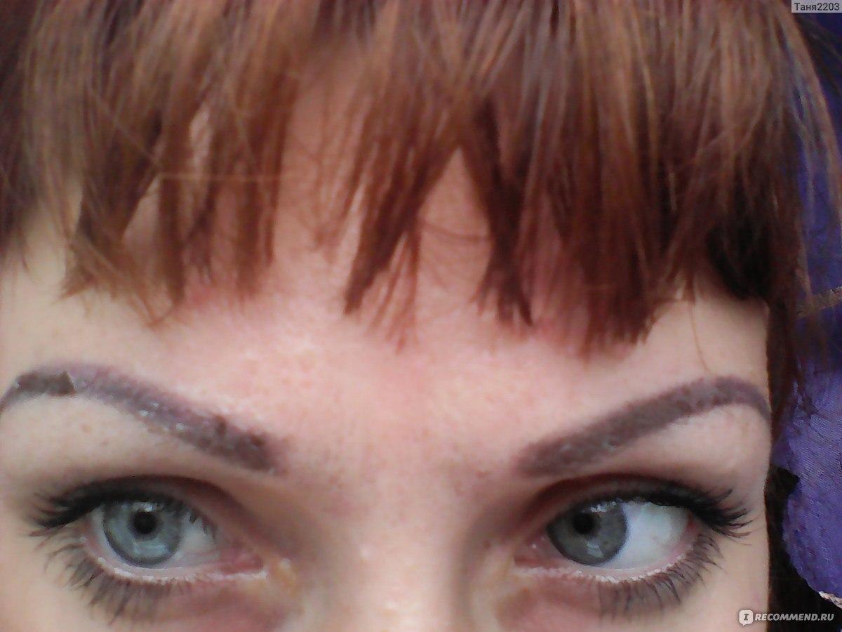 Корочки от перманентного макияжа