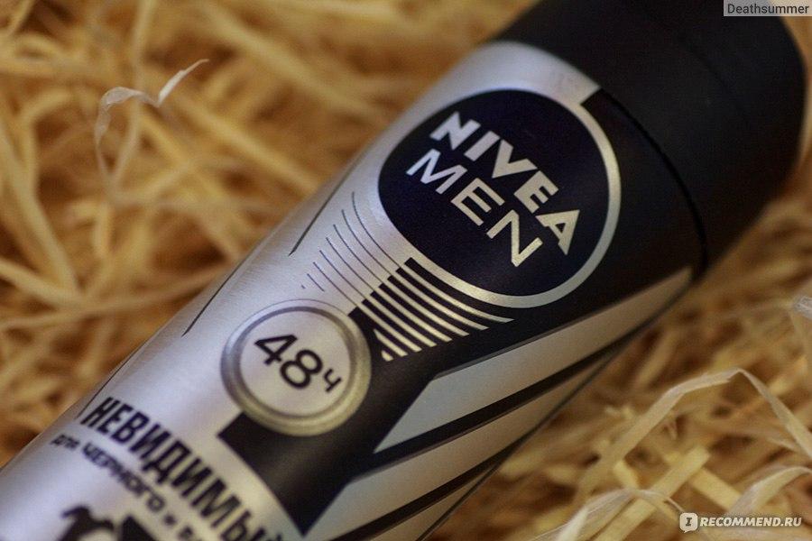 дезодорант антиперспирант Nivea For Men невидимый для черного и